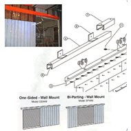 Sliding strip kits
