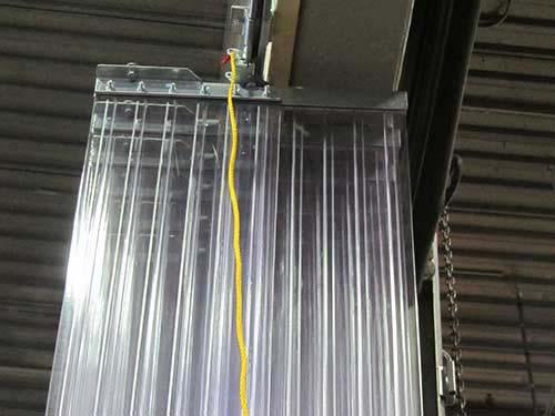 Curtains Ideas accordion curtain : Sliding Accordion Strip Door Kits - Strip-Curtains.com