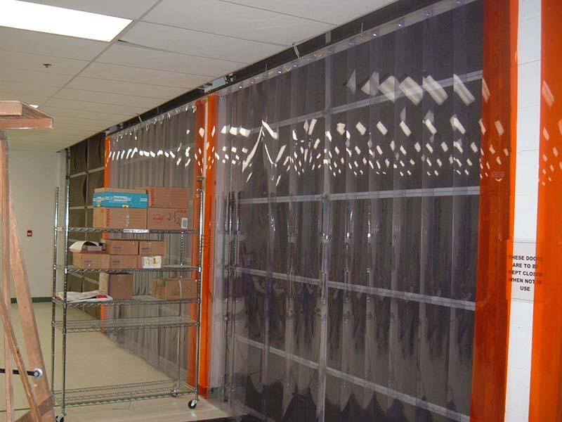 pvc strip door and curtains strip