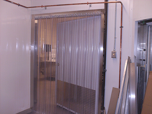 Strip Curtains Brochure. Door Size