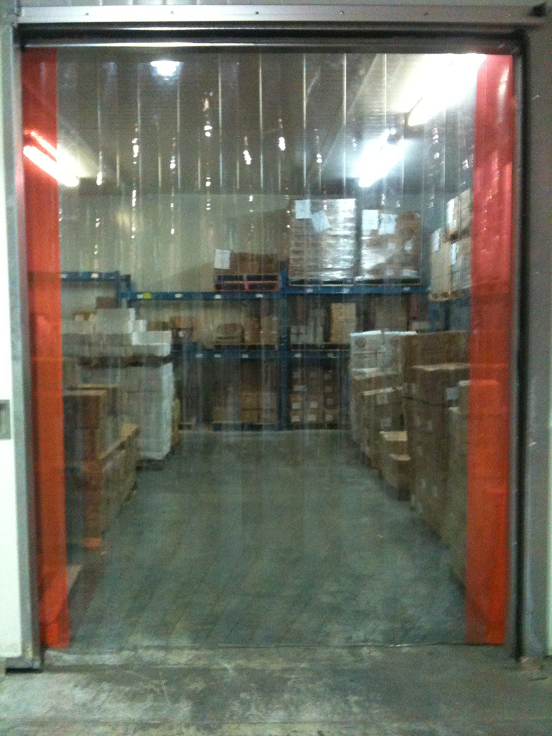 Cooler And Freezer Strip Doors Strip Curtains Com