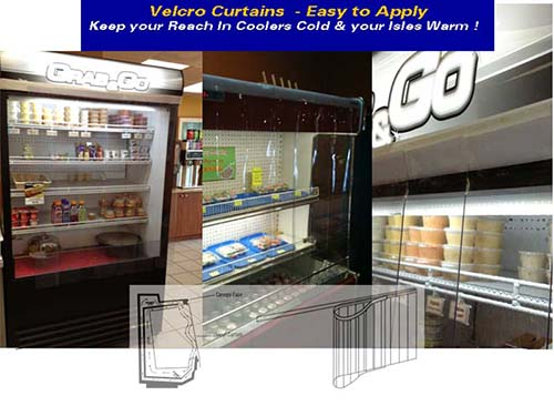 Refrigeration – Cooler Case Curtains