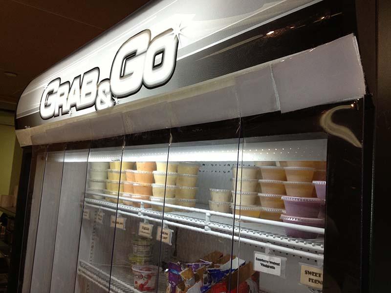 Refrigeration Cooler Case Curtains Strip Curtains Com