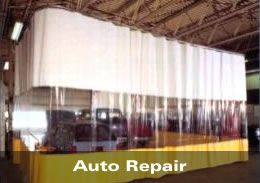 Body-Shop Style Curtains