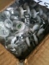 Box of 20 Nylon Wheel Trolleys - For sliding curtains -