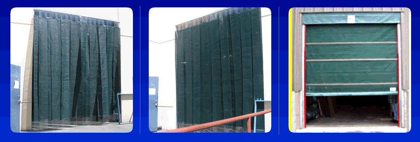Pvc Mesh Doors Roll Up Sliding Bunching And Strip Mesh
