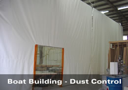 Boat Building - Dust Control