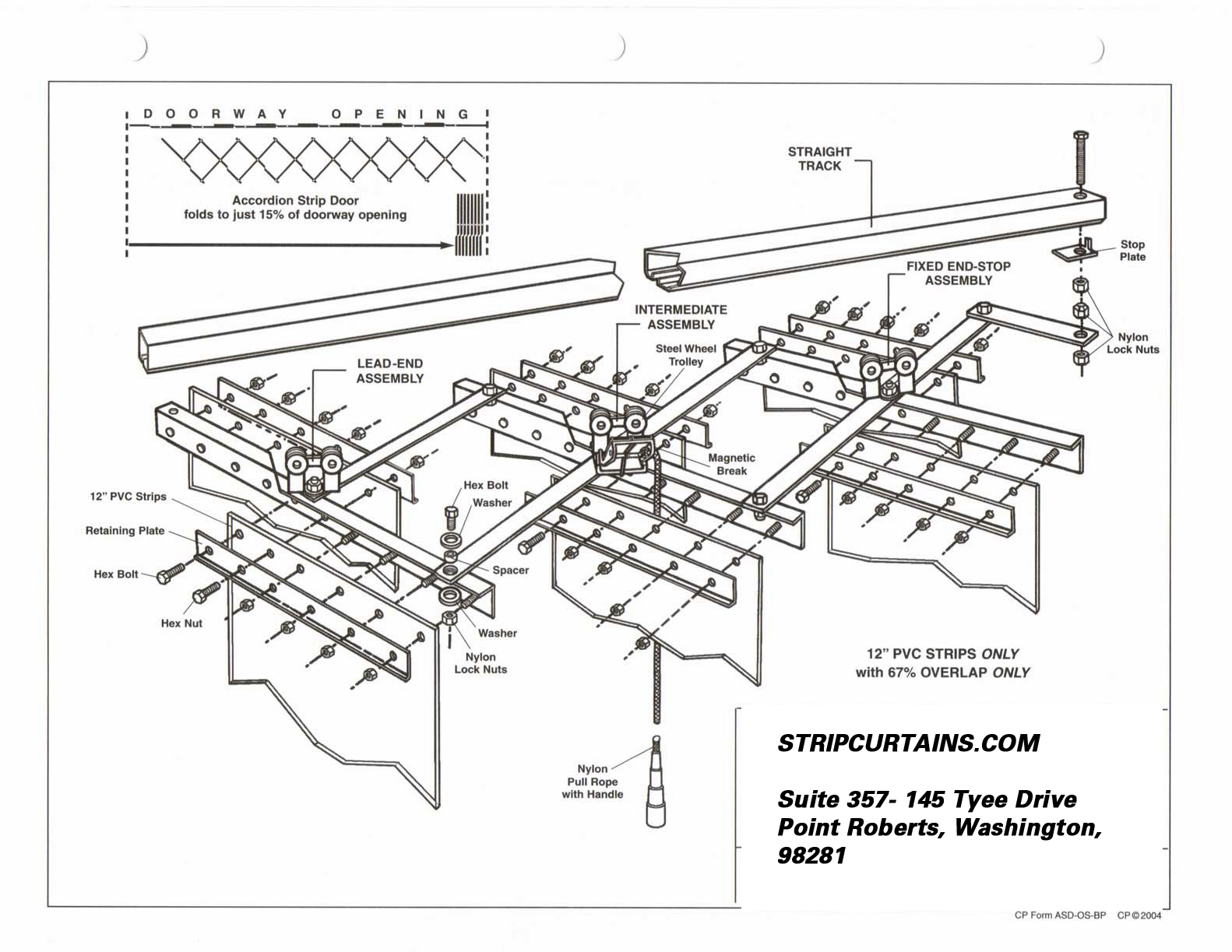 Resources Downloads  PDF s. Strip Curtains resources and links  strip door kit instructions