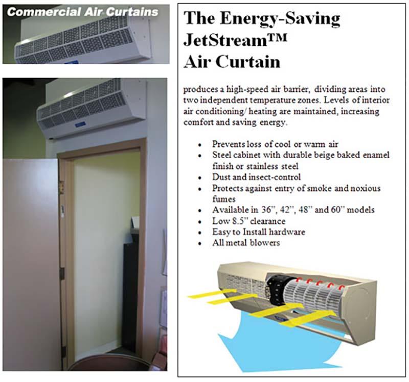 Air Door And Air Curtains Strip