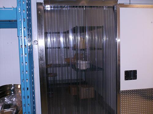 Cooler and Freezer Strip Doors - Strip-Curtains.com