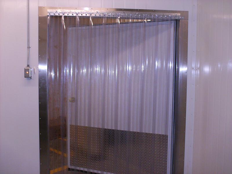 Cooler and Freezer Strip Doors - Strip-Curtains.com