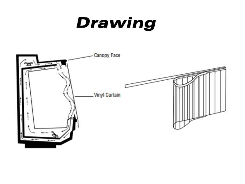 Refrigeration – Cooler Case Curtains - Strip-Curtains.com