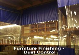 Furniture Finishing - Dust Control
