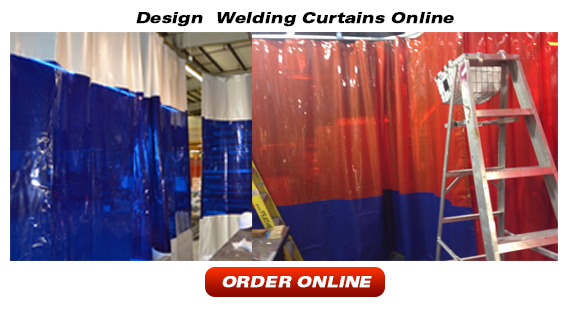 Welding Curtains and Screens - Strip-Curtains.com